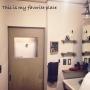 女性で、3LDK、家族住まいの塩系インテリアの会/塩系インテリア/築41年中古マンション/古い扉/Bathroom…などについてのインテリア実例を紹介。
