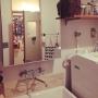 女性で、3LDK、家族住まいの100均/カクダイ/名古屋モザイク/セリア/3Coins/Bathroom…などについてのインテリア実例を紹介。