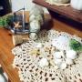 My Desk/雑貨/シェル/マリン/ビン/貝がら/マリンディスプレイに関連する部屋のインテリア実例