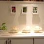 Entrance/観葉植物/ダイソー/照明/雑貨/100均/ハンドメイド/DIY/セリア/貝殻インテリアに関連する部屋のインテリア実例