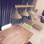 Lounge/観葉植物/無印良品/照明/北欧/ニトリ/セブンチェア/アクタス/無垢テーブル/ストッケ/クリッパンのスローケットに関連する部屋のインテリア実例