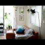 Lounge/観葉植物/モビール/セルジュムーユ/NO GREEN NO LIFE/ブログ更新しました♡/H&M HOME クッションカバーに関連する部屋のインテリア実例