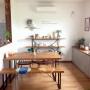 My Desk/ナチュラル/カフェ風/北欧/リサラーソン/ダーラナホース/アクタス/ウニコ/ギャッベ/広松木工/北欧風/PH5/GALA/ヒンメリ/北欧ビンテージ/雑貨好きに関連する部屋のインテリア実例