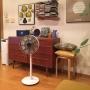 Lounge/扇風機/北欧インテリア/北欧家具/artek/BALMUDA/バルミューダ/GreenFan Japan/北欧ヴィンテージ家具/グリーンファンジャパンに関連する部屋のインテリア実例