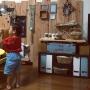 Overview/IKEA/DIY/セリア/フェイクグリーン/リメ缶/適当ですが/男前もナチュラルも好き/黒板塗料♡/ミンネで販売中☆/タペストリーDIYに関連する部屋のインテリア実例