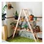 My Shelf/サボテン/DIY/多肉植物/材木/器/リメ缶/コウモリラン/interior/DIY棚/やちむん/リメ鉢/SOLSO FARM/ミモザドライ/廃材DIY/GREEN LIFE/GREENのある暮らしに関連する部屋のインテリア実例