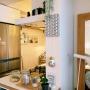 Kitchen/照明/DIY/ファブリックパネル/北欧/アルテック/北欧インテリア/マンションインテリア/楽天で買ったもの/アルテックH55に関連する部屋のインテリア実例