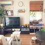 Overview/観葉植物/無印良品/ダイソー/IKEA/モビール/100均/北欧/ニトリ/セリア/フェイクグリーン/ドウダンツツジ/こどもと暮らす。に関連する部屋のインテリア実例