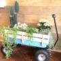 植物/ダイニング/梅雨を楽しく/DIY/フェイクグリーン/ワゴン/西海岸/梅雨/アジサイ/SOLSO FARM/カリフォルニアスタイル/植物のある暮らし/フェアリーホワイトに関連する部屋のインテリア実例