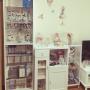 My Shelf/フィギュア/雑貨/一人暮らし/ガーリー/オタク部屋/ヲタ部屋/ニッセン/ロマプリ/うたプリ/ラブライブ!に関連する部屋のインテリア実例