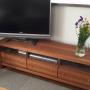 Lounge/ナチュラル/北欧/タイルカーペット/広松木工/植物のある暮らしに関連する部屋のインテリア実例