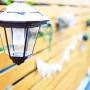 照明/ナチュラル/庭/DIY/ランタン/一軒家/ボーダーフェンス/ケーヨーデイツー/ウッドフェンス DIYに関連する部屋のインテリア実例