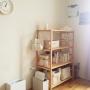 Bedroom/無印良品/絵本/ミナペルホネン/カインズホーム/minaperhonen/シンプルインテリア/こどもと暮らす。に関連する部屋のインテリア実例