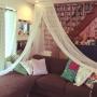 Lounge/ダイソー/IKEA/雑貨/ニトリ/モロッコ風/階段下/フライングタイガーコペンハーゲン/WALPA壁紙/中古戸建リノベーションに関連する部屋のインテリア実例