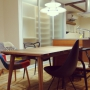 Overview/北欧/kartell/PH5/マスターズチェア/toyokitchen/パッチワークチェア/ドロップチェア/生活感だしたくない派/すきなものに囲まれた暮らし/Y-chairに関連する部屋のインテリア実例