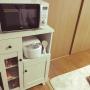 My Shelf/キッチンボード/ホワイト/木目調/ニッセン/ニッセン家具に関連する部屋のインテリア実例