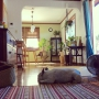 Lounge/アーコールチェア/和箪笥/中古住宅/lkea/フレブル/バルミューダ/ミックスインテリア/犬と暮らす/週末DIYに関連する部屋のインテリア実例