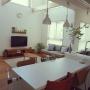 Overview/無印良品/ダイニング/北欧/セブンチェア/ルイスポールセン/北欧インテリア/センターテーブル/アイランドキッチン/吹き抜けリビング/枝もの/アルテック シエナ/アクタスの花瓶/ドウダンツツジ/無印良品 壁に付けられる家具/unico ソファ/unico /こどもと暮らす。/かわりばえしない投稿すみません。/ローゼンバーグ•コペンハーゲン/キルティングラグ/ルイスポールセン トルボーに関連する部屋のインテリア実例