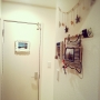Bathroom/IKEA/フレーム/ハワイアン/salut!/マリン/ヒトデ/いなざうるす屋さん/ハンドメイド雑貨/マリン雑貨/いなざるるす屋さん/マリングッズ/マリンディスプレイ/マリンテイストに関連する部屋のインテリア実例