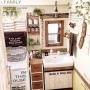 Bathroom/無印良品/ダイソー/100均/DIY/手作り家具/リメイク/セリア/coucou/フライングタイガーに関連する部屋のインテリア実例