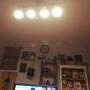 Lounge/観葉植物/照明/雑貨/DIY/セリアに関連する部屋のインテリア実例