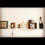 Bedroom/照明/IKEA/100均/DIY/セリア/100均リメイク/ちょい男前に関連する部屋のインテリア実例