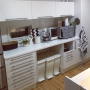Kitchen/無印良品/IKEA/marimekko/LOKKI/デロンギコーヒーメーカー/ステルトン ブレッドボックスに関連する部屋のインテリア実例
