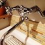 女性で、3LDK、家族住まいのカクダイ/名古屋モザイク/タイル/Bathroomについてのインテリア実例を紹介。