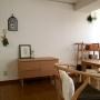 Overview/ナチュラル/モビール/北欧/シンプル/朝の風景/おはようございます♡/スワッグに関連する部屋のインテリア実例