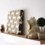 My Shelf/無印良品/北欧/シンプル/北欧雑貨/ミナペルホネン/壁に付けられる家具/mina perhonen/しろくま貯金箱/北欧テイスト/シンプルインテリア/無印良品 壁に付けられる家具に関連する部屋のインテリア実例