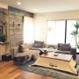 Overview/ソファー/IKEA/植物/リビング/コタツ/こたつ/カリフォルニア/WTW/西海岸/ソファーまわり/カリフォルニアスタイル/西海岸スタイルに関連する部屋のインテリア実例