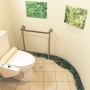 Bathroom/ナチュラル/フェイクグリーン/エアプランツに関連する部屋のインテリア実例