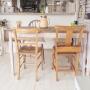 My Desk/IKEA/アンティーク/DIY/賃貸/チャーチチェア/antique/アンティークチェア/テーブルリメイクに関連する部屋のインテリア実例