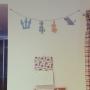 On Walls/カリモク/北欧/エコカラット/ヘルシオ/タイルデッキ/バルミューダ/シンプルインテリア/フランスベッド/リビングカーテン/ムーミン♡/子ども部屋 男の子/スタジオヒッラ/エコカラット全面張り/カリモクサイドテーブル/カリモクダイニングテーブルセットに関連する部屋のインテリア実例