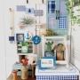 My Desk/サボテン/夏/コンテスト用に再UPします。/窓枠風飾り/いかり/マリンディスプレイに関連する部屋のインテリア実例