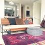 Lounge/IKEA/イケア/キリム/ニトリ/ペルシャ絨毯/広松木工/ギターのある部屋/アンビエントラウンジ/アンビエントラウンジジャパン/ベストショットに関連する部屋のインテリア実例
