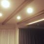 On Walls/照明/IKEA/カフェ風/ダウンライト/大人ナチュラル/ライン照明に関連する部屋のインテリア実例