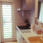 Kitchen/カリモク/北欧/エコカラット/ヘルシオ/バルミューダ/シンプルインテリア/ムーミン♡/スタジオヒッラ/エコカラット全面張りに関連する部屋のインテリア実例