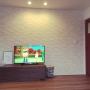 Lounge/北欧/エコカラット/広松木工/リノベーションに関連する部屋のインテリア実例