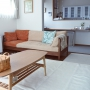 Lounge/ソファー/クッション/北欧/ミナペルホネン/広松木工/アテネの朝/北欧暮らしの道具店/ACTASに関連する部屋のインテリア実例