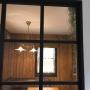 Kitchen/観葉植物/カフェ風/板壁/エアプランツ/インダストリアル/輸入住宅/スパニッシュモス/ブルックリン/GREENのある暮らしに関連する部屋のインテリア実例