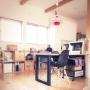 Overview/ダイニングテーブル/広松木工/イームズシェルチェアに関連する部屋のインテリア実例
