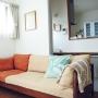 Lounge/ソファー/ミナペルホネン/クリッパン/広松木工/バーズワーズに関連する部屋のインテリア実例