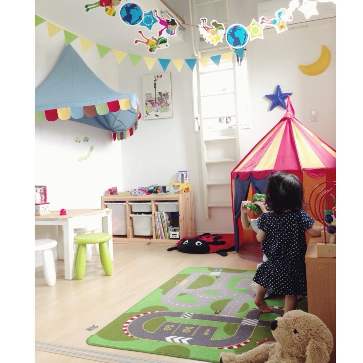 気分もあがる♪IKEAで作るカラフルな子ども部屋 | RoomClip mag | 暮らしとインテリアのwebマガジン