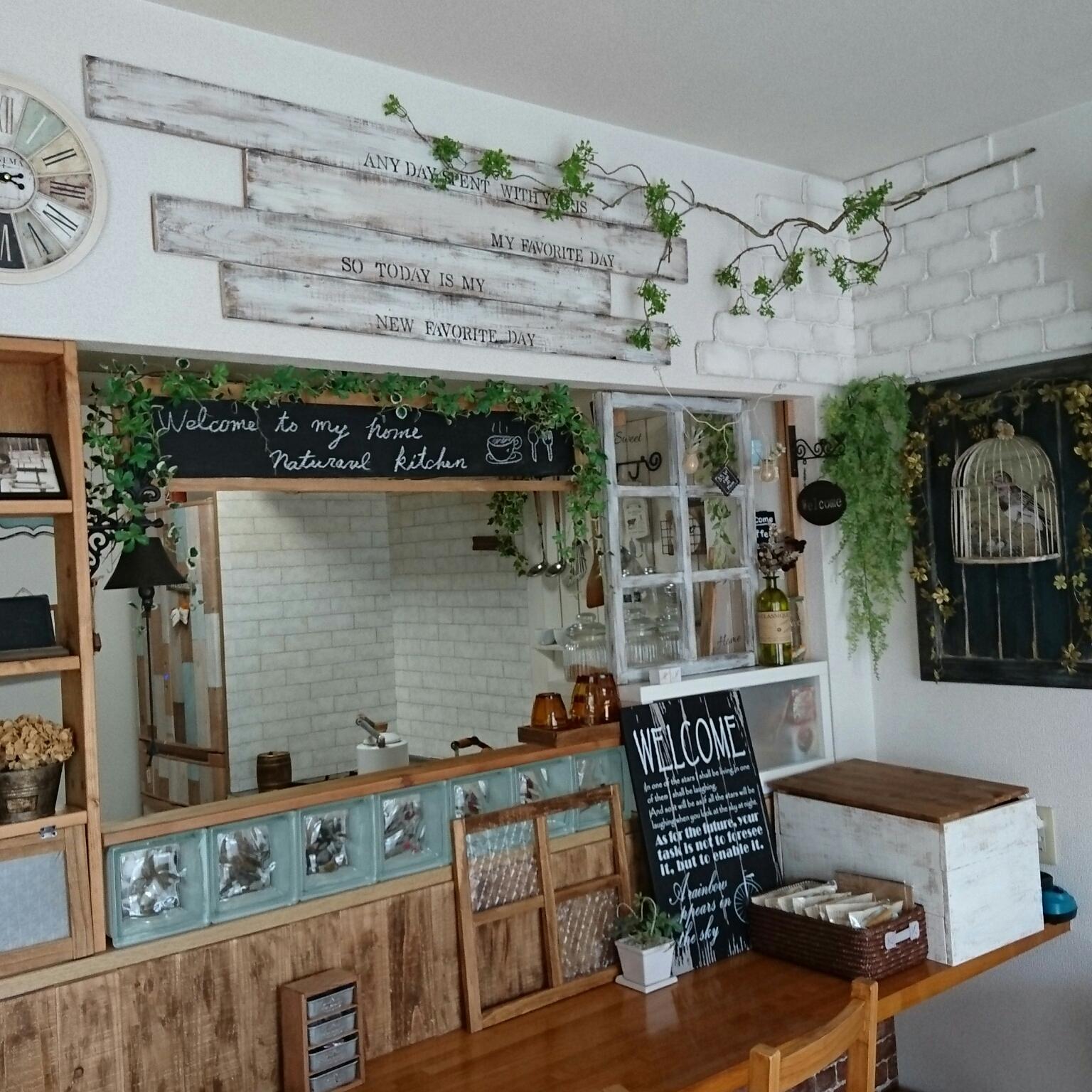カフェ気分を味わえるカウンターキッチンの作り方 | RoomClip mag | 暮らしとインテリアのwebマガジン