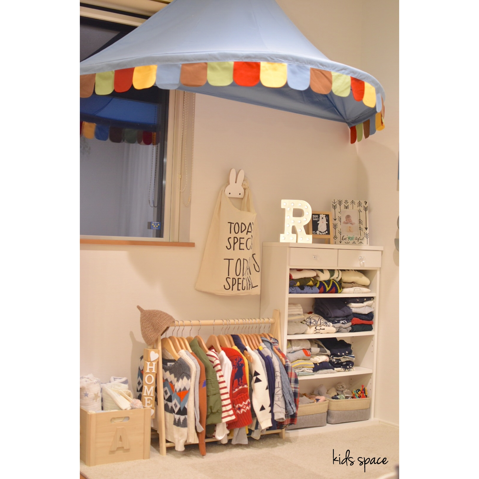 子どもが自分で管理できる!!子どものための洋服収納術 | RoomClip mag | 暮らしとインテリアのwebマガジン