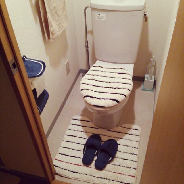 ニトリ トイレ2点セット(マリン)