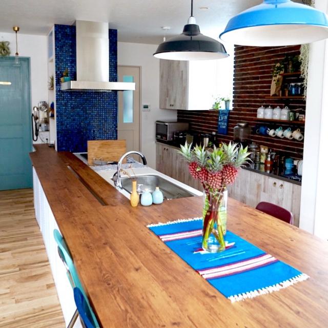 洗練された空間に☆西海岸風キッチンを作る10のポイント