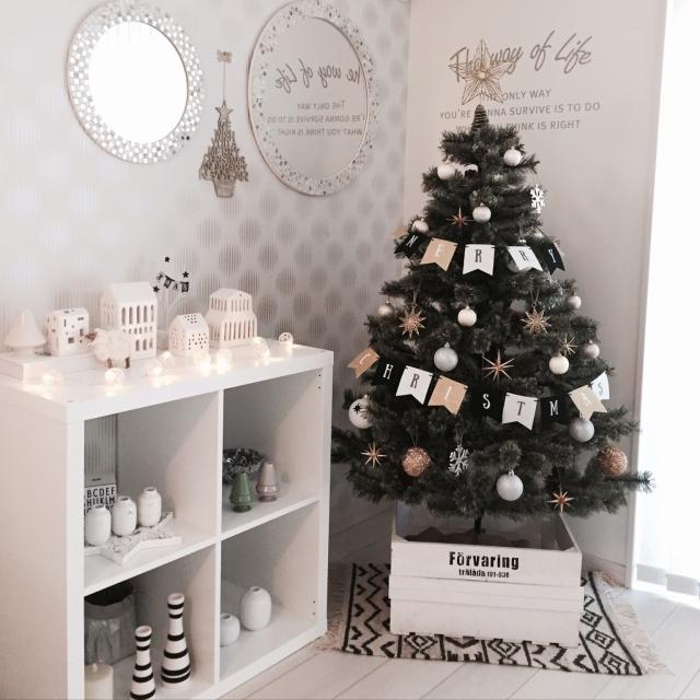 クリスマスツリーのベストポジション、見つけませんか? | RoomClip mag | 暮らしとインテリアのwebマガジン