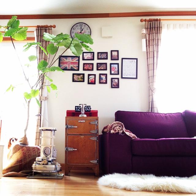 飾るだけでセンスアップ!セリアのウッドフォトフレーム | RoomClip mag | 暮らしとインテリアのwebマガジン